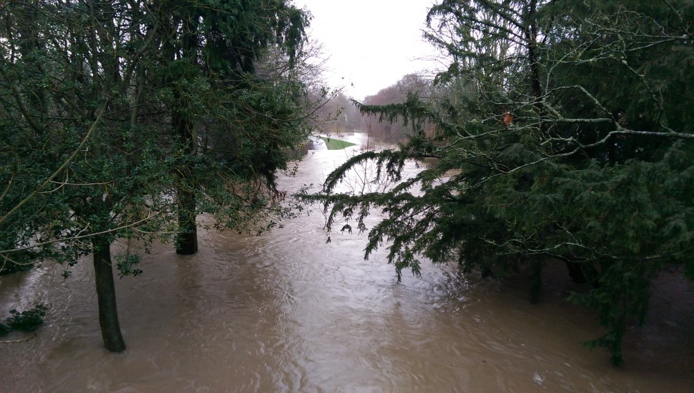 Ponteland park flooded 2016 (Image) - The Friends of Ponteland Park